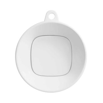 Ronbow Cast Round Above Counter White Ceramic Vessel Sink without Overflow