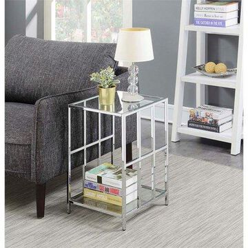 Convenience Concepts Mission Glass End Table