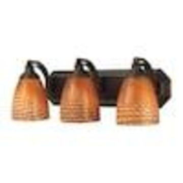 Westmore Lighting Homestead 3-Light Bronze Traditional Vanity Light Bar