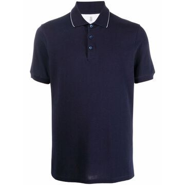 Brunello Cucinelli T-shirts and Polos Blue
