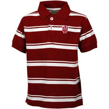 Indiana Hoosiers Youth Parker Polo - Crimson