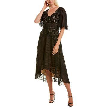 Taylor Lace Bodice Midi Dress
