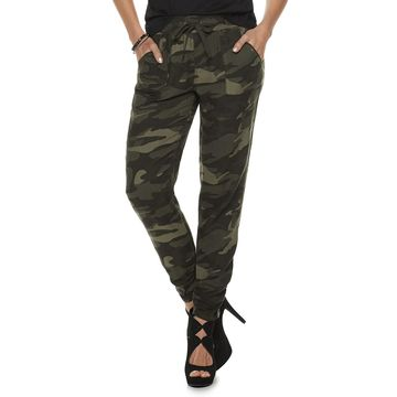Women's Rock & Republic Challis Camo Print Soft Pants