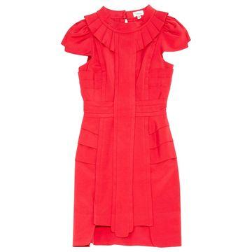 Temperley London Pink Silk Dresses
