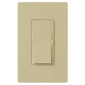 LUTRON DV-603PG-IV Lighting Dimmer,Slide,1-Pole/3-Way
