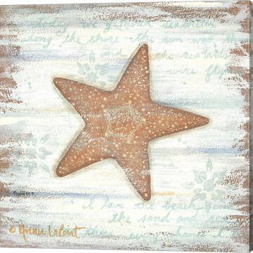 Metaverse Art Ocean Starfish Canvas Wall Art