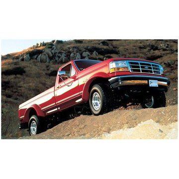 Bushwacker 92-96 Ford Bronco Extend-A-Fender Style Flares 2pc - Black
