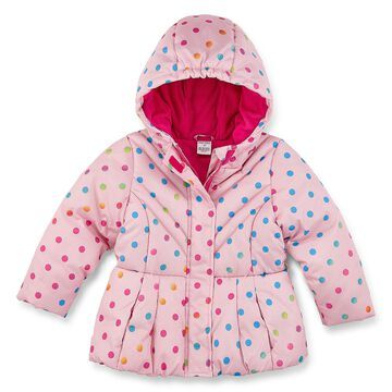 Okie Dokie - Girls Heavyweight Puffer Jacket-Toddler