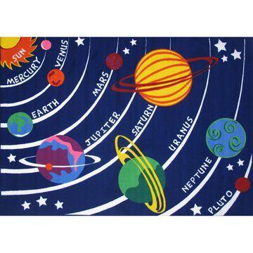 Fun Rugs Fun Time Solar System Rug