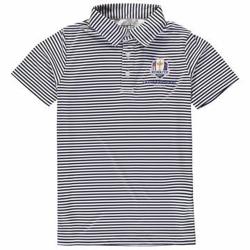 Garb Youth 2018 Ryder Cup Carson Performance Polo Navy