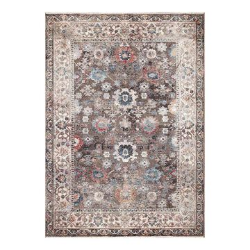 Concord Global Pandora Cassandra Traditional Area Rug, Brown, 5X7 Ft