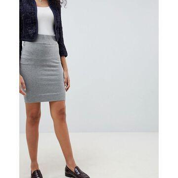 QED London Jersey Pencil Skirt