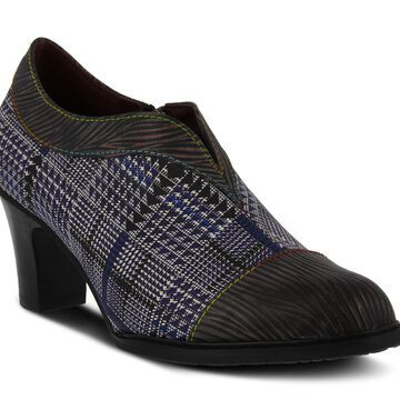 L'Artiste by Spring Step Metallic Leather Shooties - Palagia