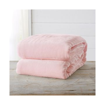 Home Fashions Designs Marlo Collection Ultra Plush Solid Twin Bed Blanket