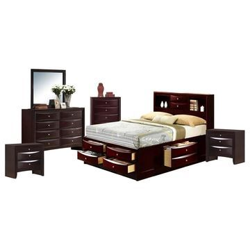 Picket House Furnishings Madison Queen Storage 6PC Bedroom Set