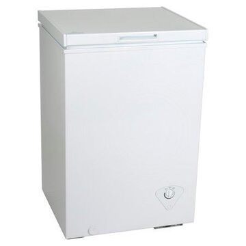 Koolatron 3.5 Cubic Foot (99 Liters) Chest Freezer with Adjustable Thermostat