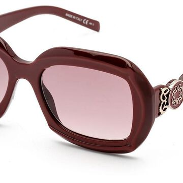 Elie Saab 032/S 0LHF/3X Men's Sunglasses Burgundy Size 53