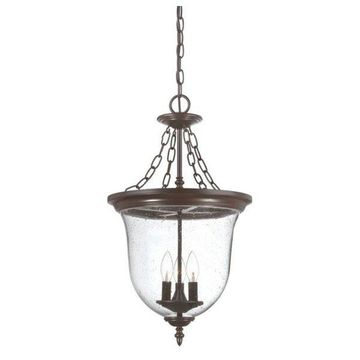 Acclaim Lighting 9316 Belle 3-Light Outdoor Pendant, Architectural Bronze