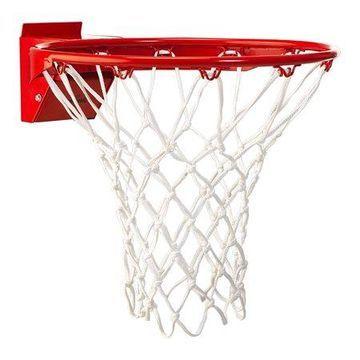 Spalding Pro Image 227S All Weather Breakaway Basketball Rim Kit, NCAA Orange