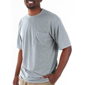 Mens Classic Short Sleeve T-Shirt with Pocket