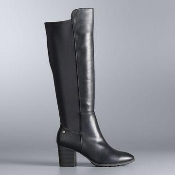 Simply Vera Vera Wang Yates Women's Tall Boots