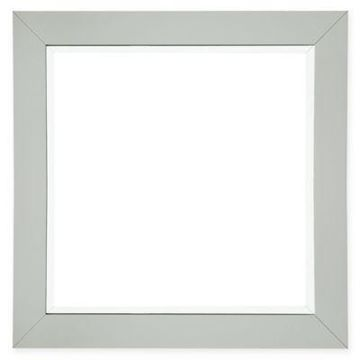 James Martin Furniture 40-Inch Square Weston Mirror in Cottage White