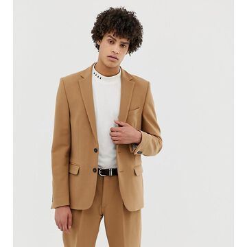 Noak suit jacket in camel-Brown