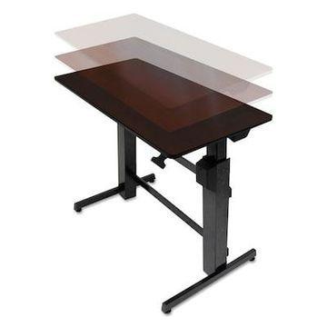 Ergotron WorkFit-D Sit-Stand Desk 48 Adjustable, Metal (24-271-927) | Quill