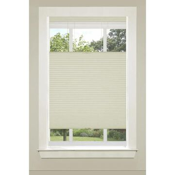 Achim Top Down Bottom Up Shade 36-in Alabaster Light Filtering Cordless Cellular Shade Polyester in Off-White   CSTD36AL06