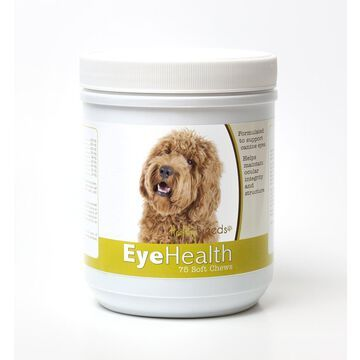 Healthy Breeds 840235145721 Labradoodle Eye Health Soft Chews - 75 Count