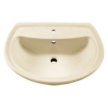 American Standard 0236.001.222 Cadet Sink Top, Linnen