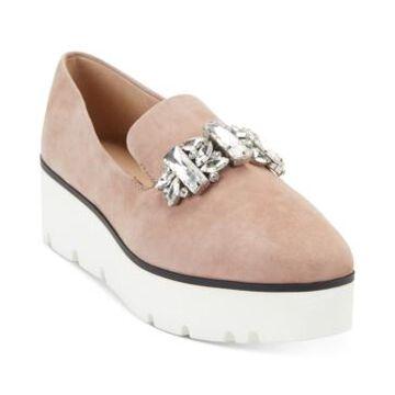 Karl Lagerfeld Paris Women's Bri Loafer Flats Women's Shoes