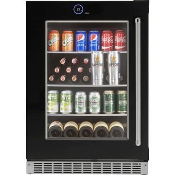 Danby Silhouette Reserve Beverage Cooler w/ Invisi-touch Display - Left Hinge