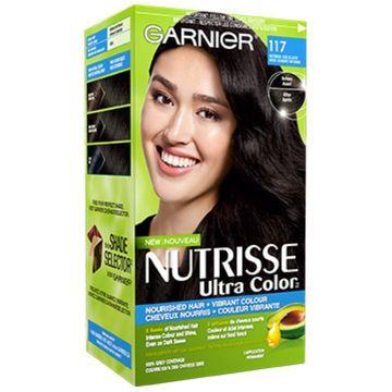 Garnier Nutrisse Ultra Color, Intense Ash Black 117