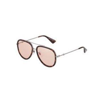 Acetate/Metal Aviator Sunglasses