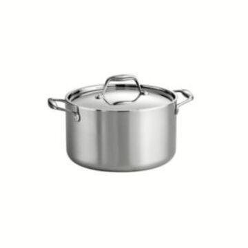 Tramontina Gourmet Tri-Ply Clad 6 Qt Covered Sauce Pot