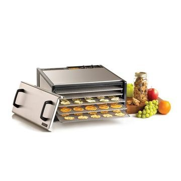 Excalibur 5-Tray Stainless Steel Food Dehydrator