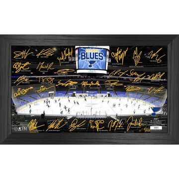 St. Louis Blues Highland Mint 12'' x 20'' Facsimile Signature Rink Photo