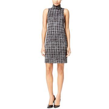 Kensie Womens Herringbone Sheath Dress