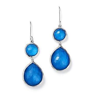 Ippolita Sterling Silver Wonderland Mother-of-Pearl Doublet Drop Earrings
