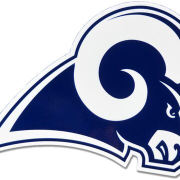 Authentic Street Signs Los Angeles Rams Steel Logo Sign