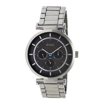 Simplify The 4800 Unisex Quartz Watch, Luminous Hands