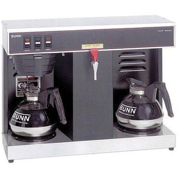BUNN VLPF 12-Cup Automatic Commercial Coffee Brewer, 2 Warmers