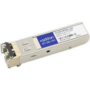 AddOn Finisar FTLF8519P2BCL Compatible TAA Compliant 1000Base-SX SFP Transceiver (MMF, 850nm, 550m, LC) - 100% compatible and guaranteed to work