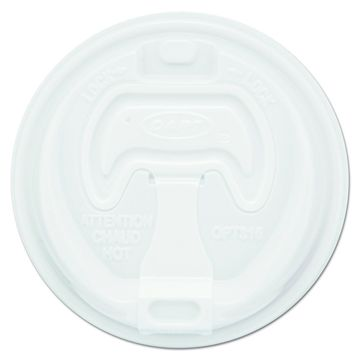 Brand New Dart 16RCL White Optima Reclosable Lid (Case of 1000) (10 Pack of 100)