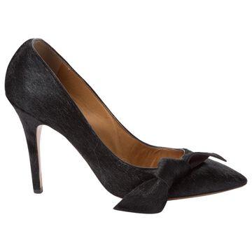 Isabel Marant Etoile Black Pony-style calfskin Heels