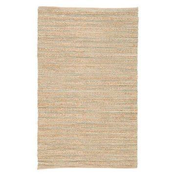 Jaipur Living Canterbury Natural Solid Tan/Green Area Rug, 8'x10'
