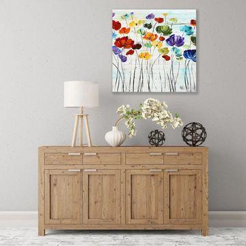 ArtWall Lillies Wood Pallet Art