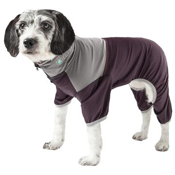 Pet Life Active Embarker Full Body Warm Up Brown Dog Sweaters, X-Large