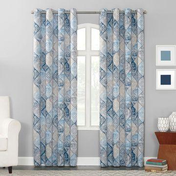 Sun Zero Dacona Grommet-Top Curtain Panel